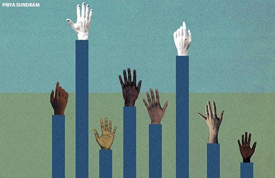 Ethnic inequalities in recruitment